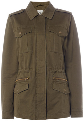 Tu clothing Khaki Utility Jacket