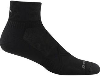 Coolmax Darn Tough Vertex Solid 1/4 Ultra-Light Cushion Sock - Men's