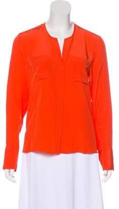 Jenni Kayne Silk Button-Up Blouse