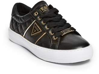 Factory Guess Women's Gilda Quilted Low-Top Sneakers
