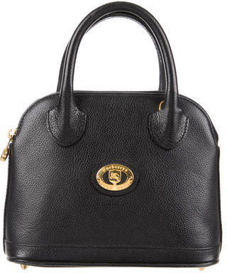 Burberry Burberry Leather Handle Bag