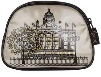 Harrods Metallic Windows Cosmetics Bag