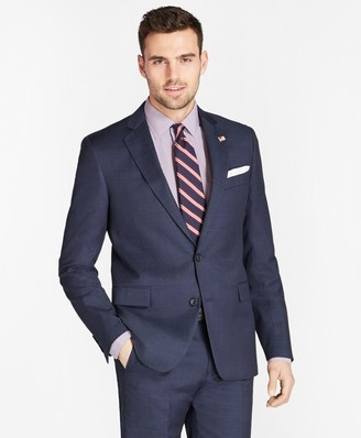 Brooks Brothers Regent Fit Tic with Stripe 1818 Suit