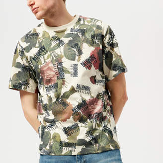 Billionaire Boys Club Men's Floral All Over Print T-Shirt