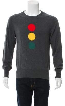 Michael Bastian Traffic Light Intarsia Sweater