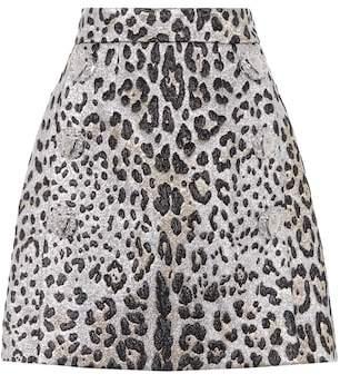 Dolce & Gabbana Leopard-printed miniskirt