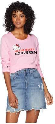 Converse Hello Kitty - Long Sleeve Tee Women's T Shirt
