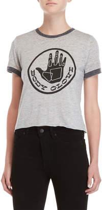 Body Glove Circle Logo Ringer Tee