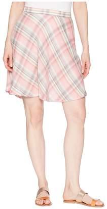 Stetson 1592 Pink Plaid Circle Skirt Women's Skirt