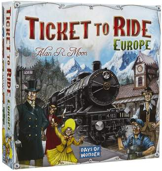 Days Of Wonder Ticket To Ride Europe Game