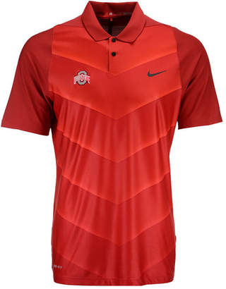 Nike Men's Ohio State Buckeyes Max Hypercool Fade Polo Shirt