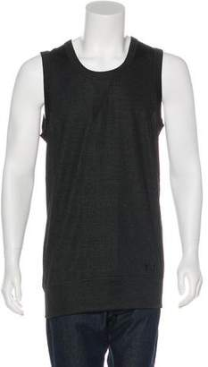 Y-3 Logo-Embroidered Sleeveless T-Shirt w/ Tags