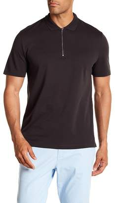 Vince Zip Polo Shirt