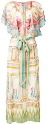 Temperley London Athena printed kaftan dress