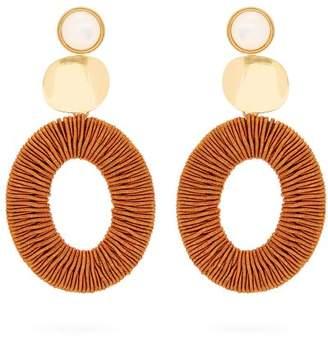 Lizzie Fortunato Harvest Moon Drop Earrings - Womens - Brown