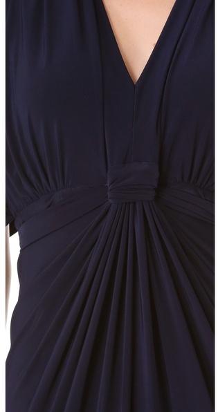 T-Bags Tbags los angeles Draped Maxi Dress