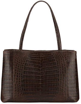 Nancy Gonzalez Analise Crocodile Work Tote Bag
