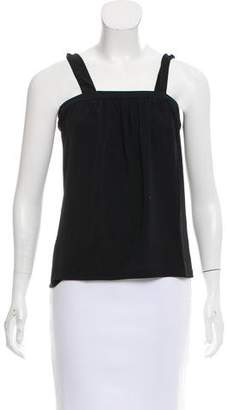 Max Mara Sleeveless Square Neck Top