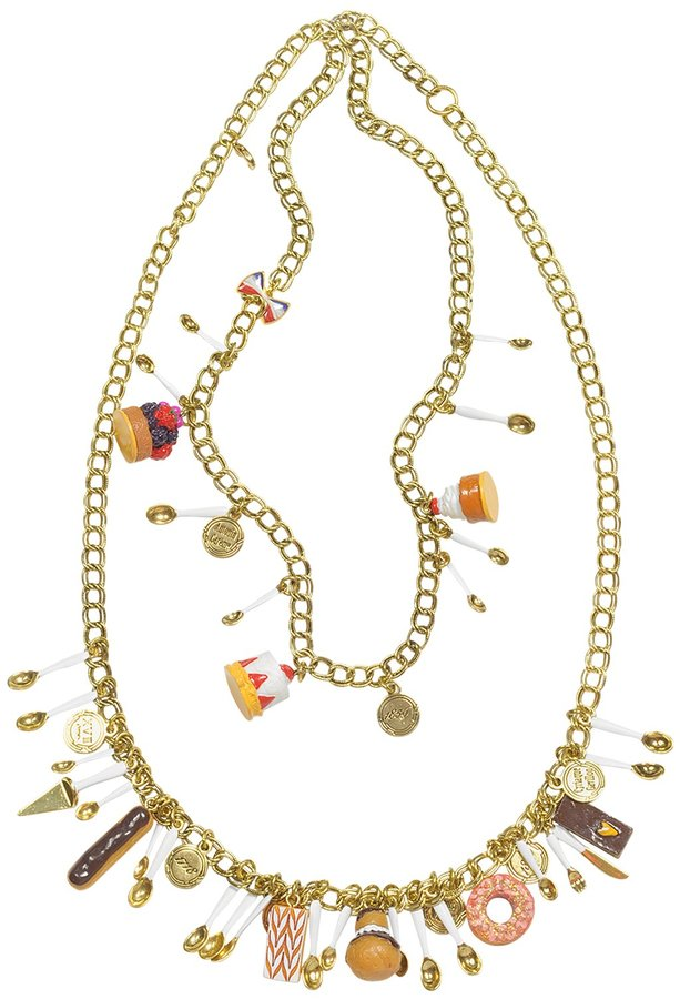 N2 Les Gourmandes - French Pastry Medley Necklace