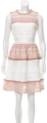 Alexis Guipure Lace Knee-Length Dress w/ Tags
