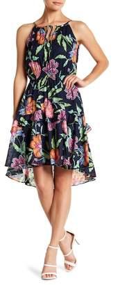 Taylor Floral Print Hi-Lo Sun Dress
