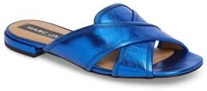 Marc Jacobs Aurora Metallic Slide Sandal