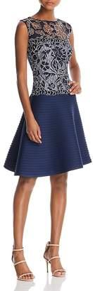 Tadashi Shoji Sleeveless Lace Fit-and-Flare Dress