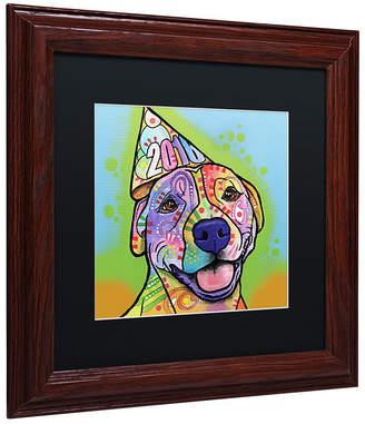 """Roxy Trademark Global Dean Russo 'Calendar Roxy' Matted Framed Art, 11"""" x 11"""""""