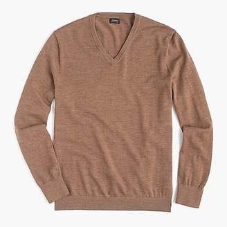 J.Crew Slim Italian merino wool V-neck sweater