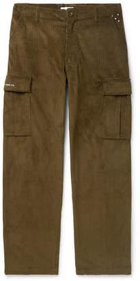 Pop Trading Company Cotton-Corduroy Cargo Trousers