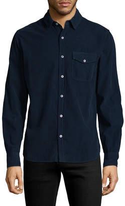 Save Khaki Corduroy Easy Sportshirt