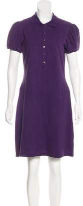 Burberry Collared Knit Dress