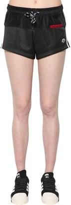 adidas By Alexander Wang Velvet & Tech Shorts