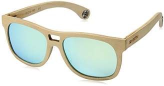 Earth Wood Las Islas Polarized Aviator Sunglasses