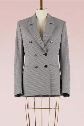 MSGM Mixed check wool Jacket