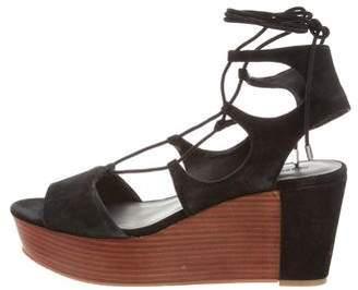 Rebecca Minkoff Lace-Up Platform Wedges