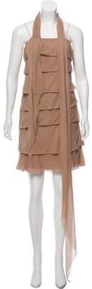 Lanvin Ruffled Mini Dress
