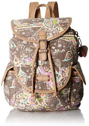 Sakroots Artist Circle Small Flap Fashion Backpack