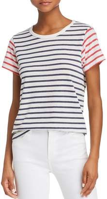 Alternative Mixed-Stripe Tee