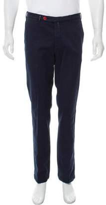 Kiton Textured Casual Pants