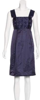 Calvin Klein Collection Silk Knee-Length Dress