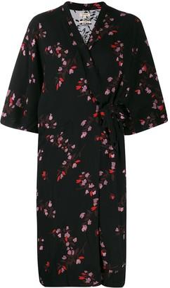 Bellerose Arty wrap-style overshirt