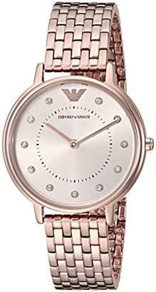 Emporio Armani Women's 'Dress Quartz Stainless Steel Casual Watch