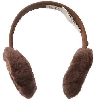 UGG Classic Genuine Sheepskin & Suede Earmuffs