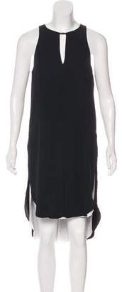Rag & Bone Midi Sleeveless Asymmetrical Dress