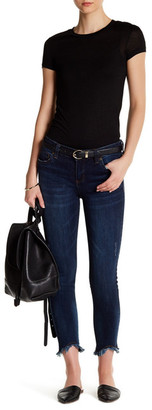 KUT from the Kloth Carlo Skinny Ankle Fray Hem Jean $89 thestylecure.com