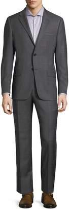 Hickey Freeman Men's Woven Stripe Suit Jacket