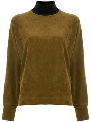 G.V.G.V. corduroy turtle neck top