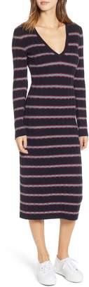 The Fifth Label Gravitation Stripe Sweater Dress