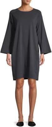Eileen Fisher Classic Stretch Shift Dress
